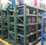 cassetta portautensili della plastica di 255X175X75mm con l'azzurro