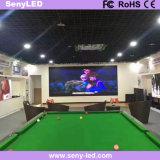Afficheur LED visuel d'intérieur polychrome de location des annonces P4