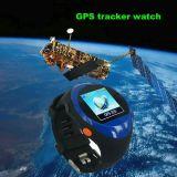 Gps-Verfolger-Uhr-Telefon PAS, das ältere intelligente Uhr mit aufrufender Funktion ruft