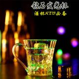 De Kop die van het Glas van de Kleur van de Gift van de Bevordering van de Verjaardag van Kerstmis HOOFD Kleurrijke Partij/Kop van het Glas van de Bar/de Lichtgevende van de Wijn KTV voor Staaf opvlammen
