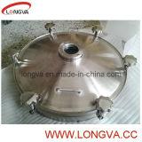 円形の衛生ステンレス鋼タンクマンホールカバー