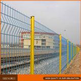 Il PVC ha ricoperto la rete fissa saldata urgente V della rete metallica