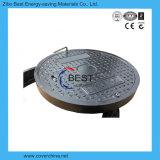 700mm En124 기준을%s 가진 원형에 의하여 밀봉되는 맨홀 뚜껑