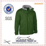 최신 판매 우연한 방풍 폴리에스테 직물 남자 여자 겨울 재킷