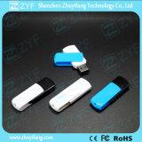 Bastone blu di plastica del USB della parte girevole 4GB di nuovo disegno (ZYF1285)