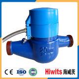 プラスチック水道メーターの部品が付いている安いデジタル無線水道メーター