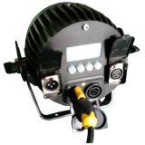 Mini luz al aire libre de la etapa de la IGUALDAD de IP65 LED con el conector de IP65 Powercon y de DMX 512 XLR