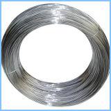 Fio chapeado zinco do ferro do aço de baixo carbono
