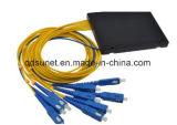 Epon Gpon 1*8 수동적인 광학적인 쪼개는 도구 PLC 연결기