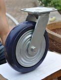 """"""" blaue Fußrolle PU-8 für Indurstry"""