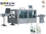 Machine recouvrante remplissante de lavage d'eau embouteillée en plastique