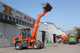 Tl1500 4.2m Reach Boom Telescopic Wheel Loader with Pallet Fork