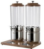 Sap Dispenser met Beech Wood voor Keeping Juice (grt-at90315-2)