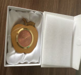 Orologio dello scrittorio del metallo del regalo di affari di alta qualità