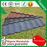 Matériaux de construction Tuile en pierre Tile de toit en acier galvanisé
