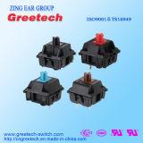 Механически чернота перемещения клавиатуры Switche-4mm