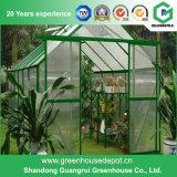 最もよい価格のポリカーボネートのフィルムの小さい庭の温室