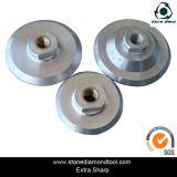 Appoggio di alluminio del tampone a cuscinetti per lucidare del supporto del Velcro