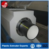 Chaîne de production en plastique d'extrusion de tube de pipe de LDPE de HDPE
