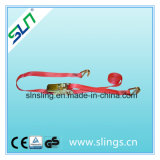 5tx8m 100% Polyester Ratchet Tie Down Strap