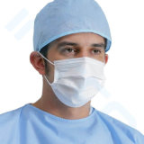 生殖不能のNonwoven医学の3つはEarloopと外科Facemasksに執ように勧めるか、または結ぶ