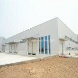 Le fournisseur de la Chine a galvanisé l'entrepôt préfabriqué de structure métallique de mesure légère