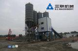 Centrales de malaxage concrètes de ciment modulaire de série