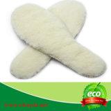 Sottopiedi naturali della pelle di pecora di 100%