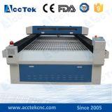Machine de découpage en cuir de tissu de tissu de laser de CO2 Akj1325