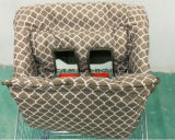 1개의 아기 어린이 식사용 의자 덮개에 대하여 2