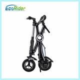 Bicicleta elétrica da sujeira da bicicleta elétrica Foldable de Ecorider com a bateria removível