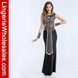 Ферзь Sequin причудливый платья партии Halloween египетский Costume взрослого Нила