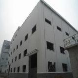 Gruppo di lavoro della struttura d'acciaio dei due pendii per elaborare materiale