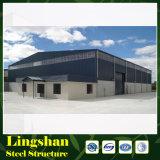 Struttura d'acciaio del magazzino del blocco per grafici d'acciaio d'acciaio dello spazio per il workshop