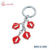 Kundenspezifische moderne reizvolle Lippe Keychains für Geschenk