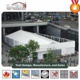 Im Freien temporäres Ereignis-Zelt mit Glasseitenwänden