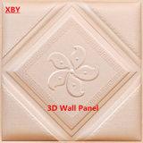 tarjeta acústica del techo del panel de la decoración del panel de pared 3D 600*600