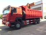 Caminhão de Tipper resistente do descarregador da tonelada 15m3 de HOWO 6X4 25