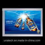 Rectángulo ligero publicitario de aluminio de interior de los media delgados de la muestra del LED