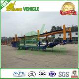 Camion de transporteur de véhicule de 2 essieux pour le transport de véhicule