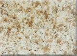 급료 석영 표면 석판, 인공적인 돌 두 배 색깔 석영 석판
