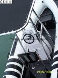 Glace de PVC/Pvcmaterial//Hypalon/Hypalon Material/FRP/Fiberglass/Fiber/Fibreglasss/côte/bateau gonflable rigide (HSF 420-580)