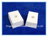 Doublure de tuile de pipe d'alumine soudable/alumine en céramique Resistnat d'usure de briques de céramique