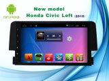 人間の特徴をもつシステムBluetooth/TV/WiFiの2016年のHonda Civic車のDVDプレイヤーのための9インチの運行GPS