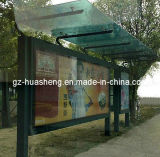 Bus Shelter voor Advertizing (hs-BS-B001)