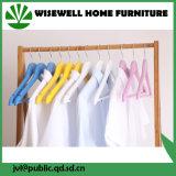 Gancho de pano largo da lavanderia da madeira contínua com barra das calças (WHG-A03)