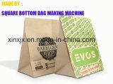 Máquina da selagem e de soldadura do saco de papel para o saco inferior quadrado de papel que faz a máquina