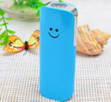 Smile Face Power Bank Portable para todo o telefone inteligente com tocha LED Novo em 2015