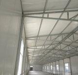 Installation rapide de la maison de volaille en acier structuré
