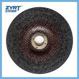 Muela abrasiva T27 para el metal con el disco del abrasivo del acoplamiento
